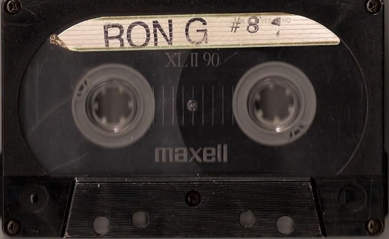 DJ RON G MIX TAPE 8